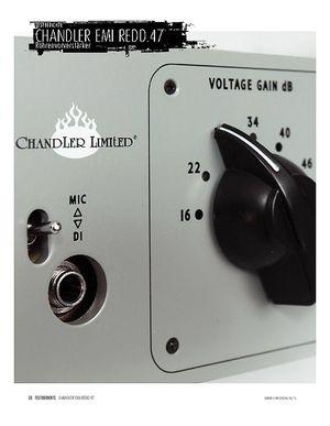 Sound & Recording Chandler Limited EMI REDD.47 - Röhrenverstärker mit Abbey-Road-Vergangenheit