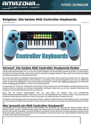 Amazona.de Special: Controllerkeyboards Guide 2015