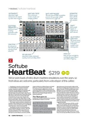 Computer Music Softube HeartBeat