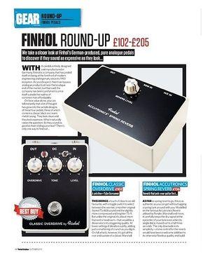 Total Guitar Finhol Round-Up