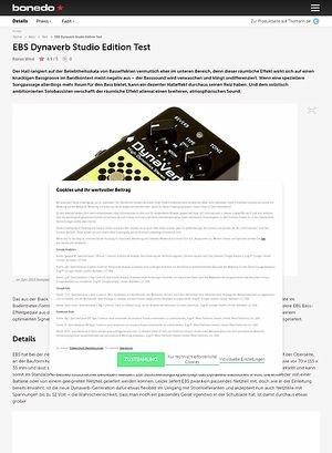 Bonedo.de EBS Dynaverb Studio Edition