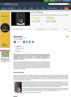 Audiofanzine.com Eve Audio SC204