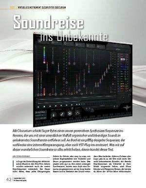 Professional Audio SUGAR BYTES OBSCURIUM