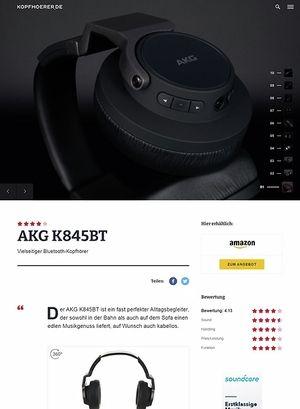 Kopfhoerer.de AKG K-845BT Black