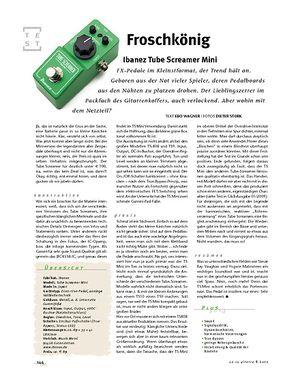 Gitarre & Bass Ibanez Mini Tubescreamer, FX-Pedal