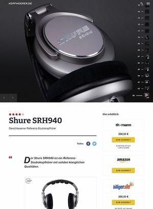 Kopfhoerer.de Shure SRH940