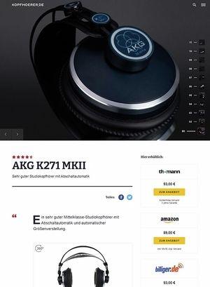 Kopfhoerer.de AKG K-271 MKII