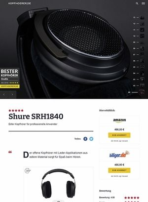 Kopfhoerer.de Shure SRH1840