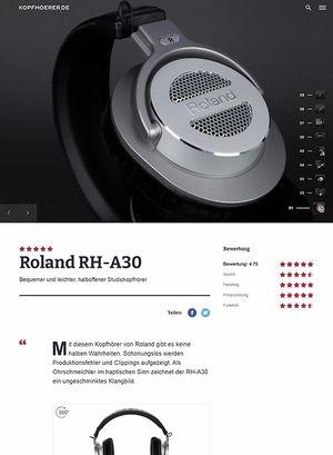 Kopfhoerer.de Roland RH-A30