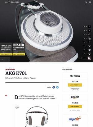 Kopfhoerer.de AKG K-701