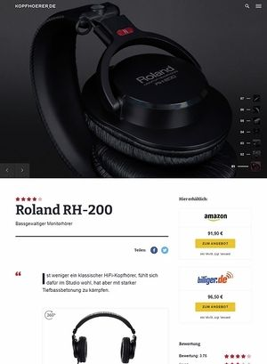 Kopfhoerer.de Roland RH-200