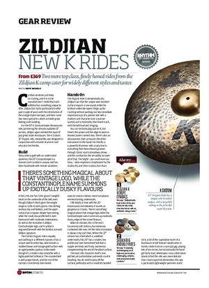 Rhythm Zildjian K Rides