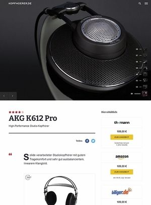 Kopfhoerer.de AKG K-612 Pro