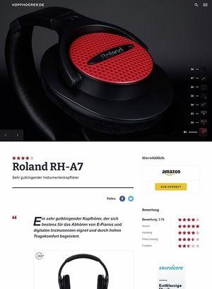 Kopfhoerer.de Roland RH-A7 Black
