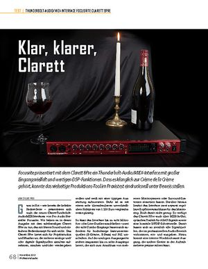 Professional Audio Focusrite Clarett 8Pre