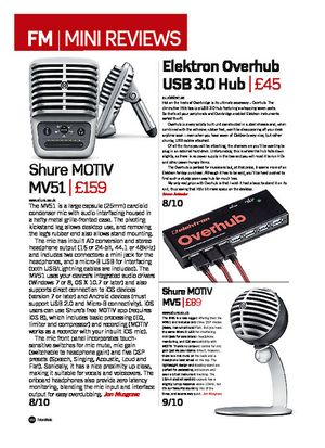 Future Music Shure MOTIV MV51