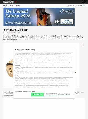 Bonedo.de Ibanez LGB 30 NT