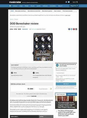 MusicRadar.com DOD Boneshaker