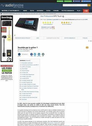 Audiofanzine.com Akai MPC Touch