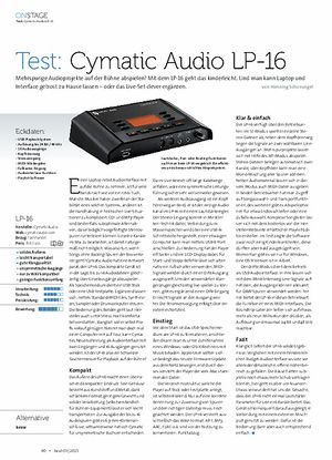 Beat Cymatic Audio LP-16