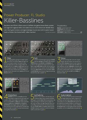 Beat FL Studio - Killer-Basslines