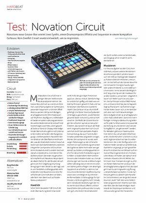 Beat Novation Circuit