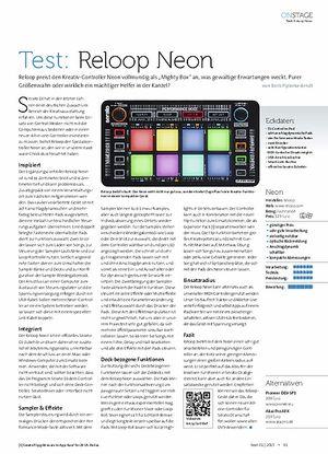Beat Reloop Neon