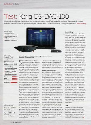 Beat Korg DS-DAC-100