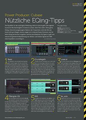 Beat Cubase - Nützliche EQing-Tipps