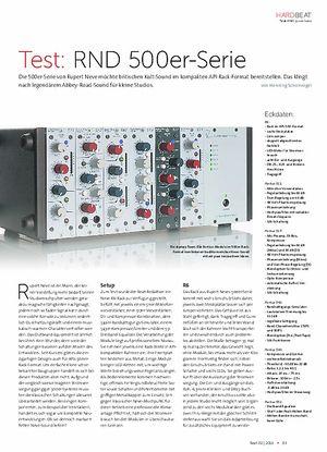 Beat RND 500er-Serie