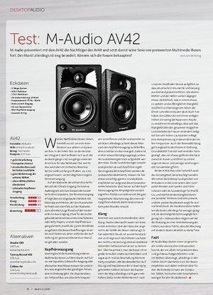 Beat M-Audio AV42