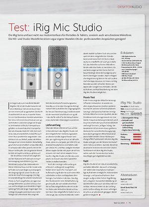 Beat iRig Mic Studio