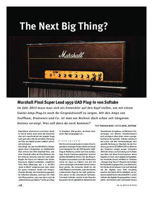 Gitarre & Bass Marshall Plexi Super Lead 1959 UAD-Plug-In von Softube