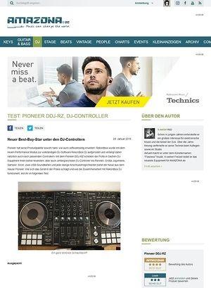 Amazona.de Test: Pioneer DDJ-RZ, DJ-Controller