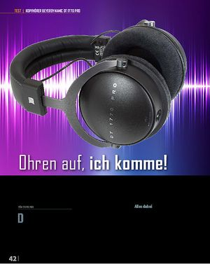 Professional Audio Beyerdynamic DT 1770