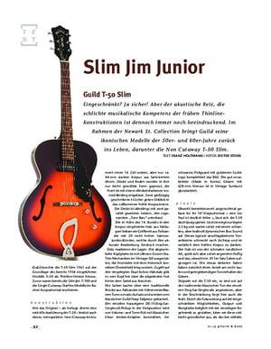 Gitarre & Bass Guild T-50, E-Gitarre