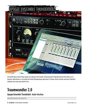 Sound & Recording Apogee Ensemble Thunderbolt - Audio-Interface