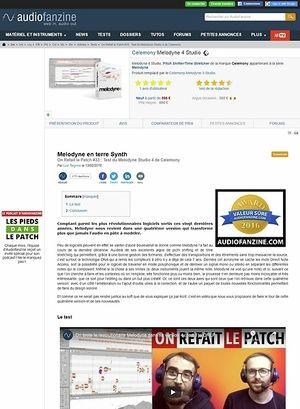 Audiofanzine.com Celemony Melodyne 4 Studio