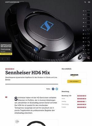 Kopfhoerer.de Sennheiser HD-6 MIX