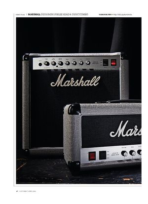 Guitarist Marshall 2525H Mini Jubilee Head