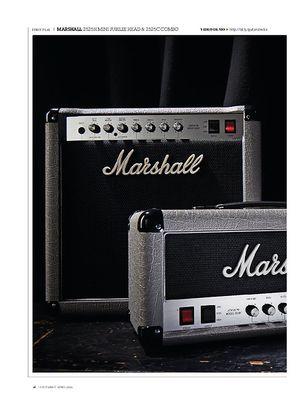 Guitarist Marshall 2525C Mini Jubilee 1X12 Combo