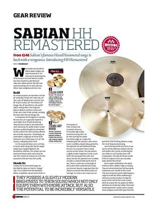 Rhythm Sabian HH Remastered