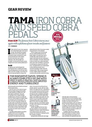 Rhythm Tama Iron Cobra And Speed Cobra Pedals
