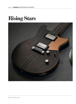 Guitarist Yamaha Revstar RS502T & RS820CR