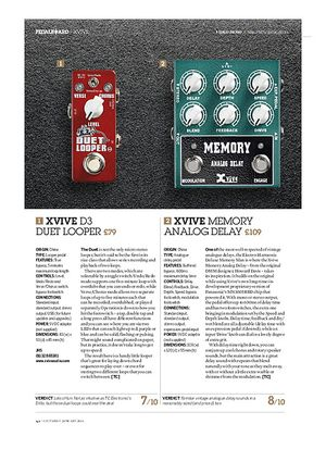 Guitarist Xvive Memory Analog Delay
