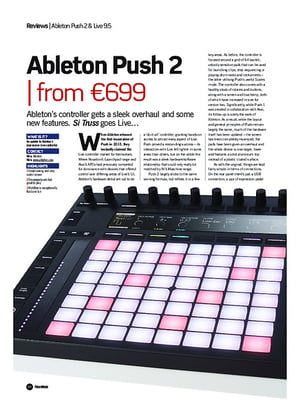 Future Music Ableton Push 2