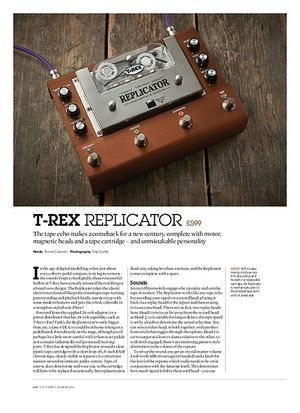 Guitarist T-Rex Replicator