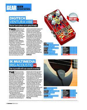 Total Guitar Digitech Ventura Vibe