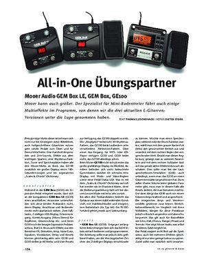 Gitarre & Bass Mooer Audio GEM Box LE, GEM Box, GE100