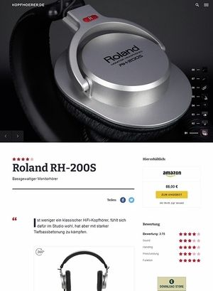 Kopfhoerer.de Roland RH-200-S